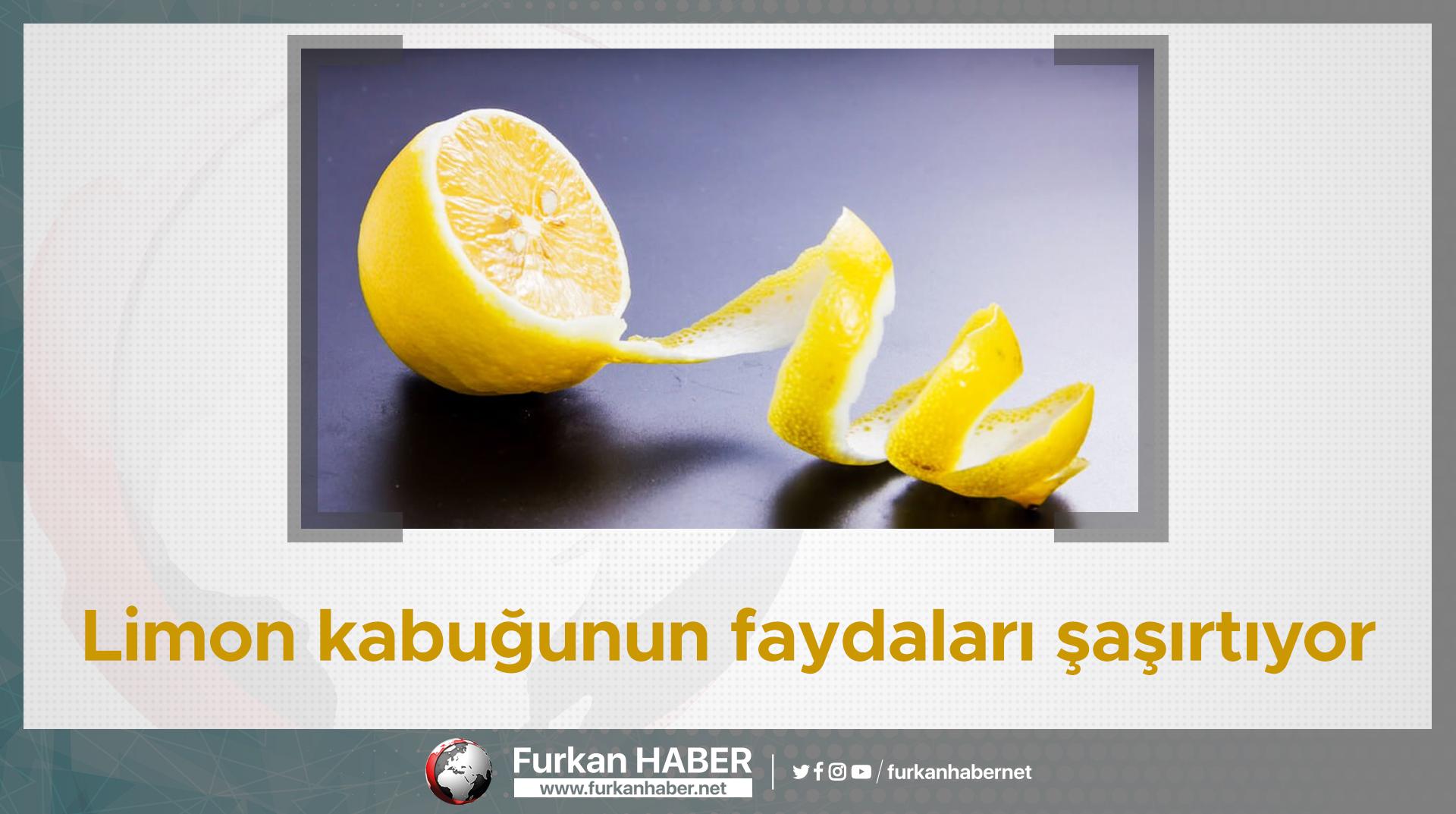 Limon kabuğunun faydaları şaşırtıyor