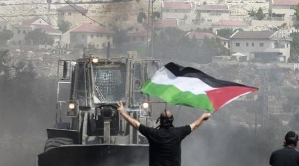 İşgalci İsrail polisi, Filisitinlilere saldırdı! 11 gözaltı