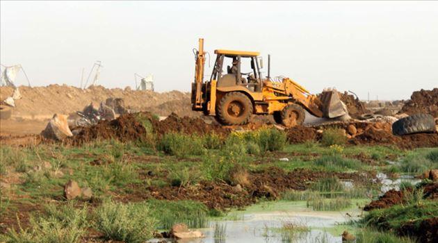Siyonist İsrail İki Haftada Üçüncü Kez Gazze'deki Tarım Arazilerini Sular Altında Bıraktı
