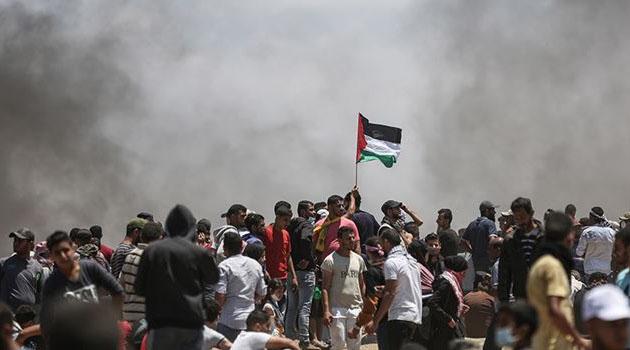 İşgal askerleri Gazze Şeridi sınırında 38 Filistinliyi yaraladı