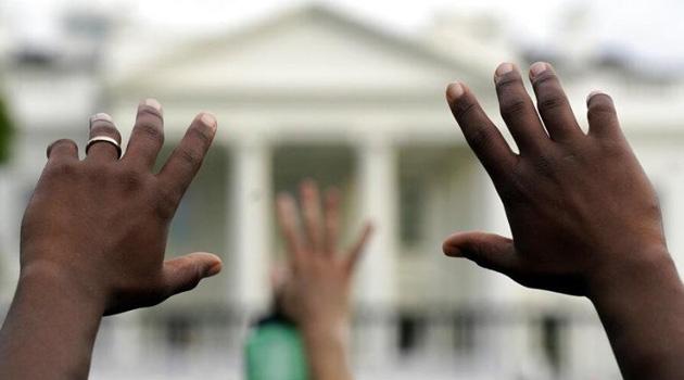 ABD'nin başkenti Washington'da protestolar nedeniyle sokağa çıkma yasağı