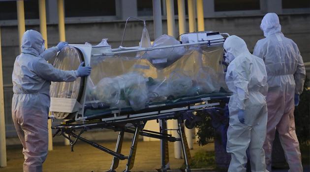 Fransa'da can kaybı son 24 saatte 135 arttı