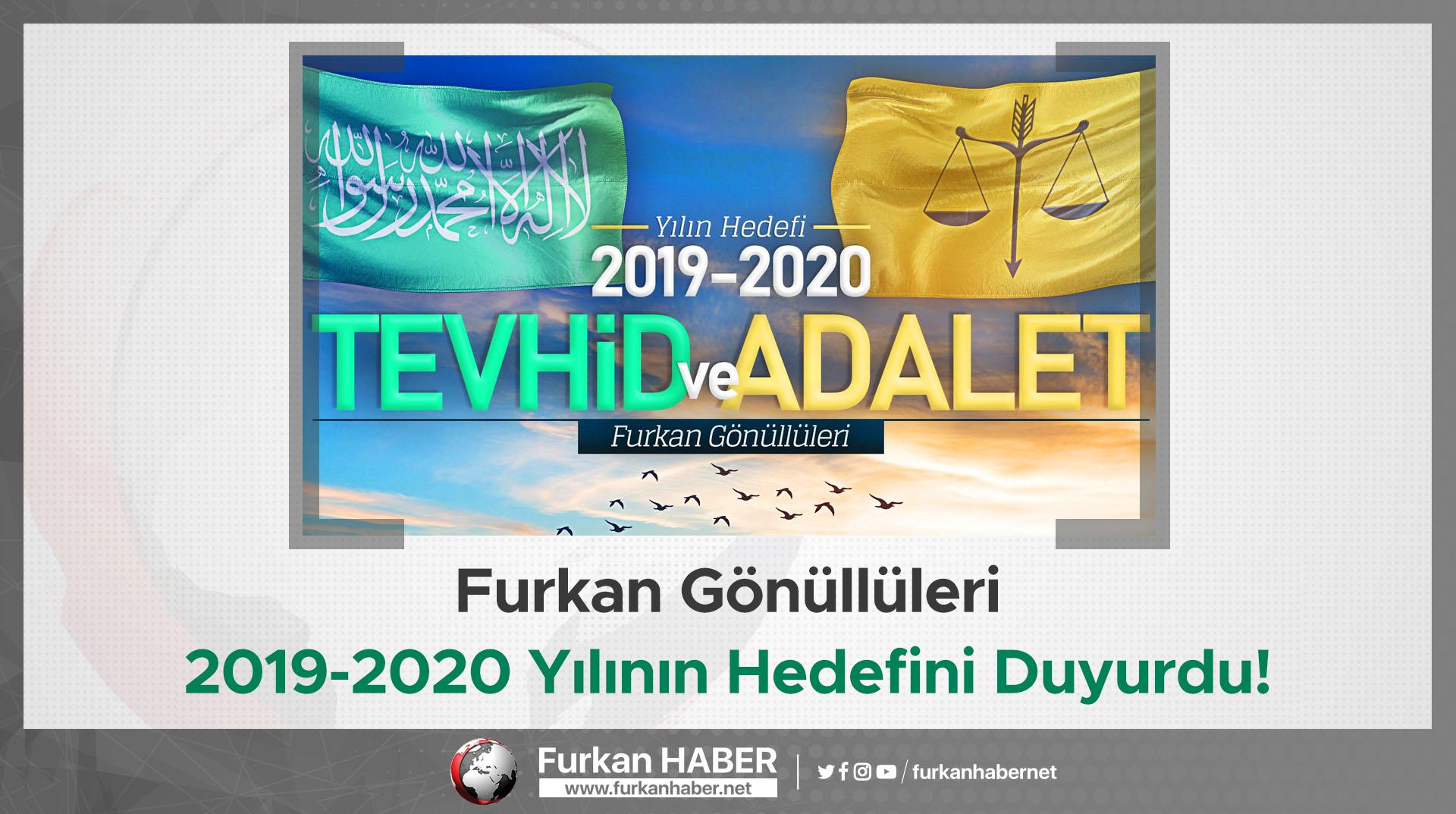 Furkan Gönüllüleri 2019-2020 Yılının Hedefini Duyurdu!