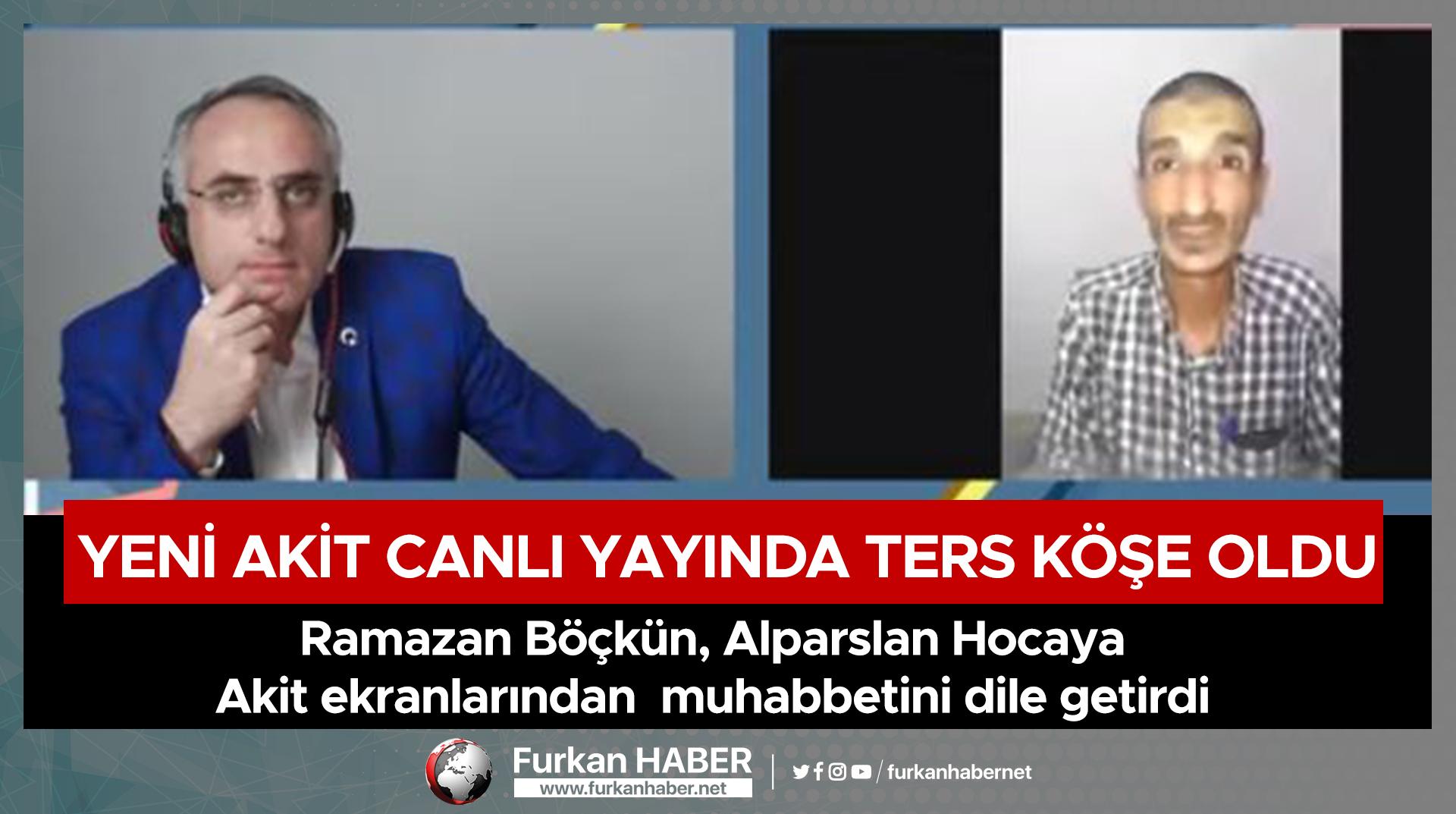 Ramazan Böçkün, Alparslan Hocaya Akit ekranlarından muhabbetini dile getirdi