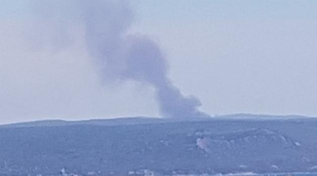 Tarihi Gelibolu Yarımadası'nda orman yangını