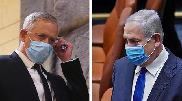 İsrail'de Netanyahu-Gantz ittifakı kuruldu