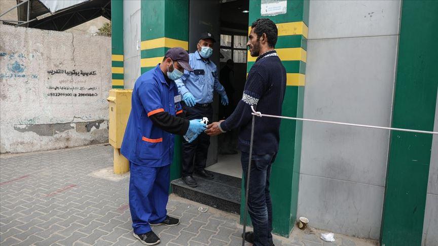 Gazze'de koronavirüs teşhisi için gerekli malzemeler tükendi