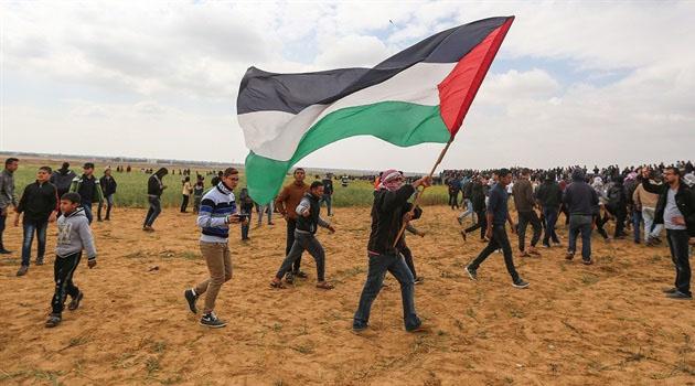 İşgalciler Gazze Sınırında 74 Filistinliyi Yaraladı