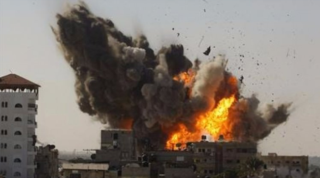 İşgalci İsrail, Gazze'de mülteci kampı dahil birçok noktaya saldırdı