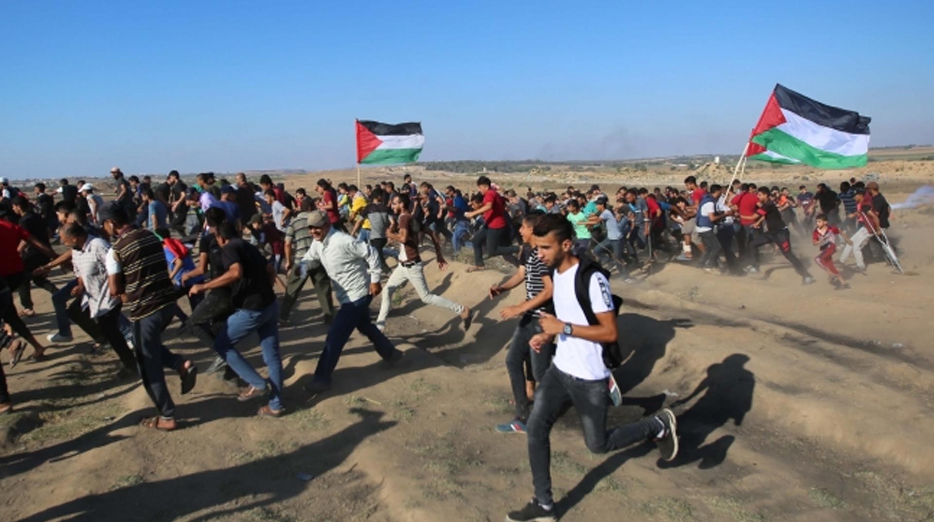 İsrail güçleri 87 Filistinliyi yaraladı