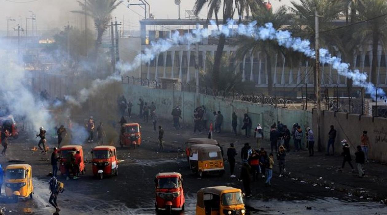 Irak'ta Son 2 Gün İçinde 6 Gösterici Öldürüldü