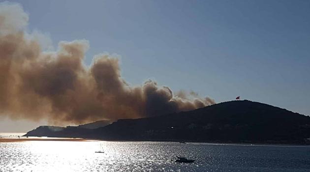 Tarım ve Orman Bakanı Pakdemirli 'den Heybeliada'da çıkan yangınla ilgili açıklama