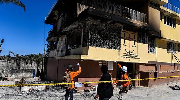 Haiti'de yetimhanede çıkan yangında 15 çocuk hayatını kaybetti