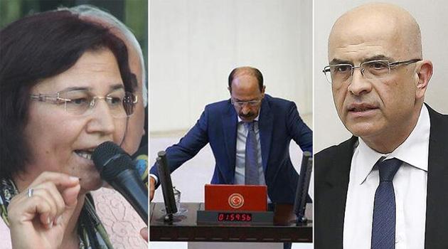 CHP'li Enis Berberoğlu ile HDP'li Leyla Güven ve Musa Farisoğulları'nın vekillikleri düşürüldü