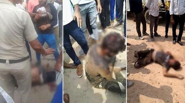 Aracında inek eti taşıdığı iddia edilen Müslüman genci linç ettiler