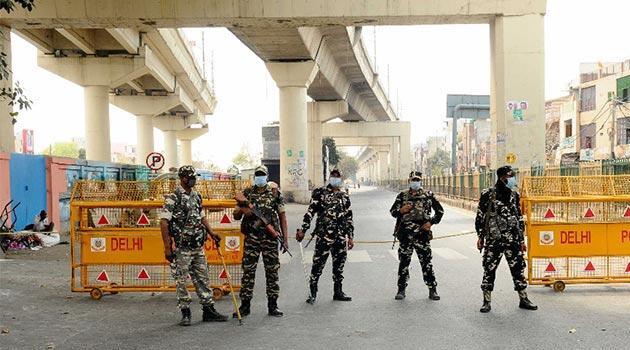Hindistan'da 21 günlük sokağa çıkma yasağı