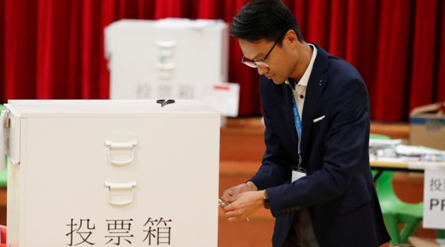 Hong Kong yerel seçimlerin galibi belli oldu