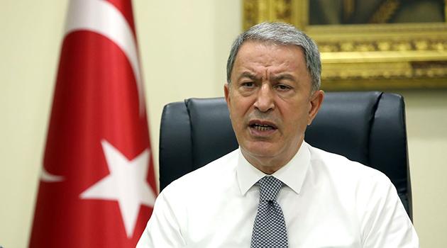 Milli Savunma Bakanı Akar: Yunanistan'la olan sorunu diyalogla çözmek istiyoruz