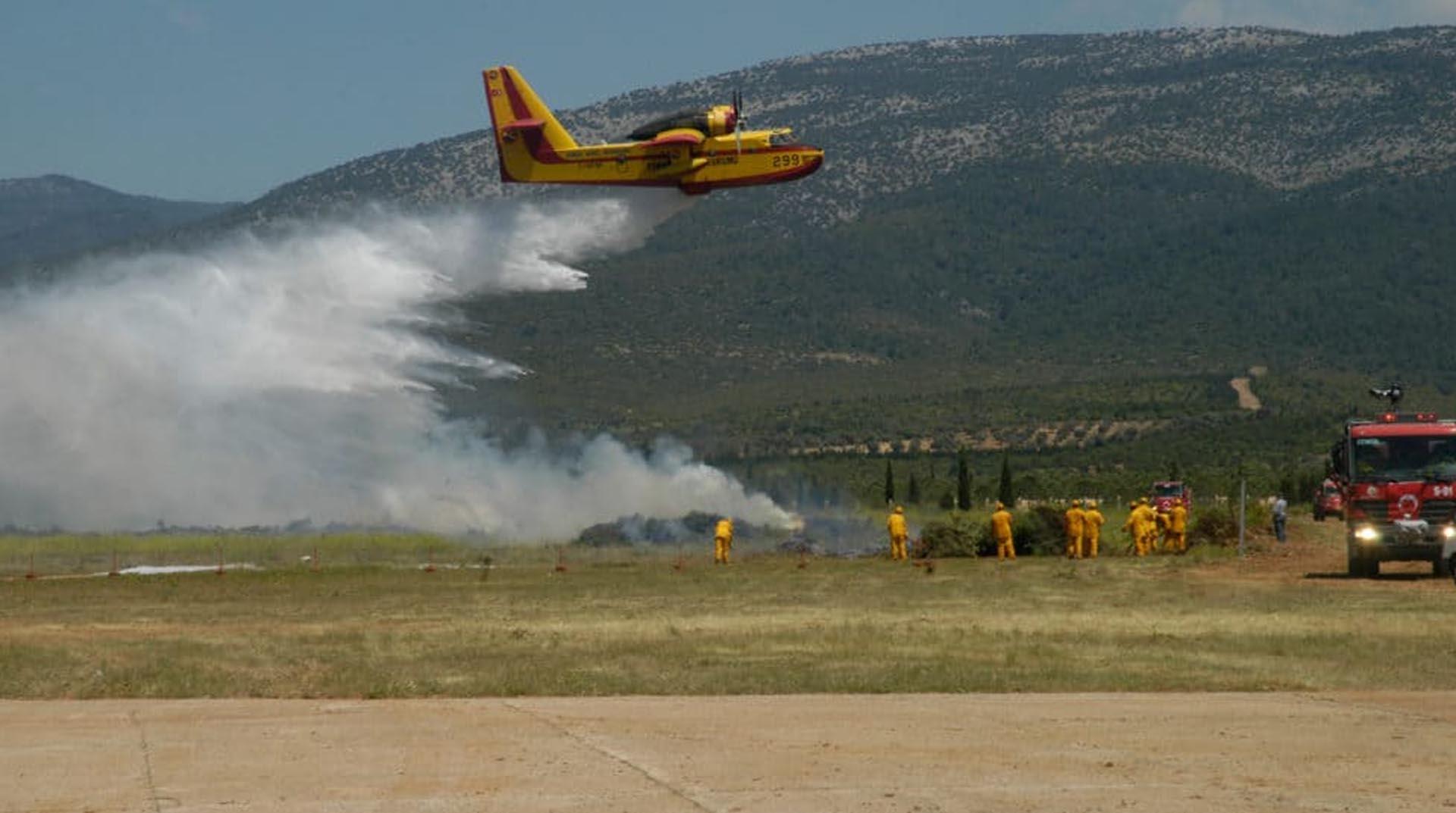 THK yetkilisi: Yangın söndürme uçaklarımız arızalı değil, askeri uçakları tamir ediyoruz