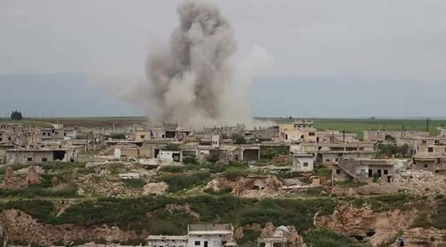 Zalim Esad rejimi İdlib'e saldırdı: 1 çocuk ölü, 6 yaralı