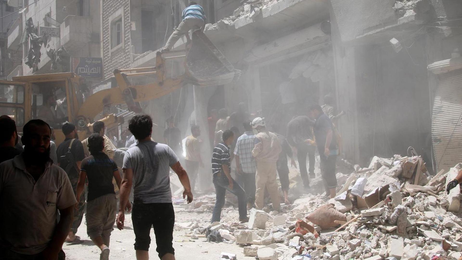 İdlib'e Şiddetli Hava Saldırıları: 17 Ölü