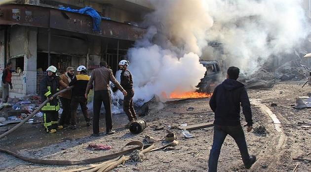 Zalim Esed rejiminden İdlib'e saldırı: 1 ölü