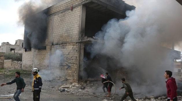 İşgalci Rusya İdlib'e 5 Sivili Daha Katletti!