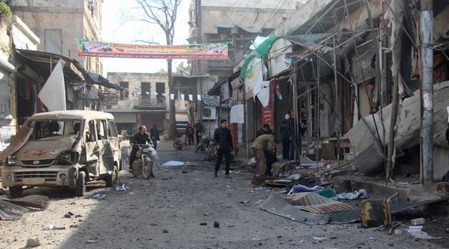 İdlib'de rejim ve Rusya yine sivilleri hedef aldı: 2 ölü