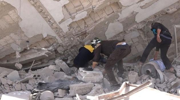 Rusya'nın hava saldırılarında aynı aileden 3 çocuk öldü