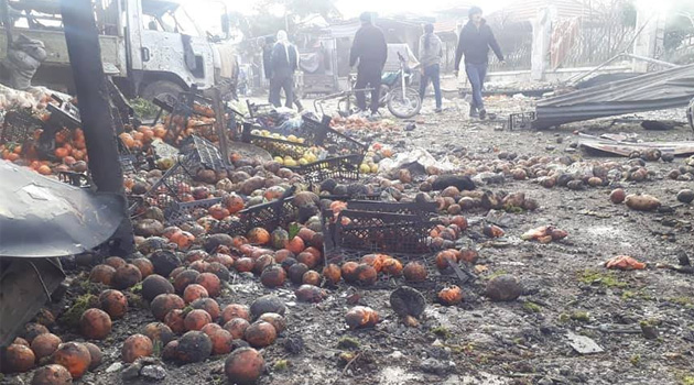 Zalim Esed pazar alışverişi yapanlara saldırdı: 10 ölü