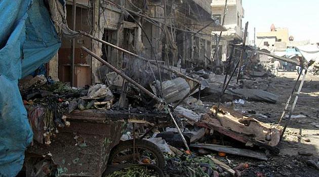 Esad güçleri İdlib'de pazar yerini vurdu: 11 ölü