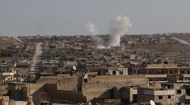 Rus savaş uçaklarından İdlib'e hava saldırısı: 4 ölü
