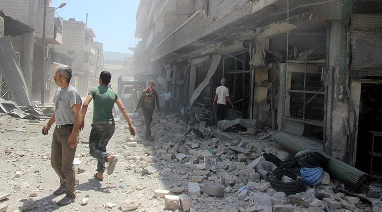 İdlib'e son 2 günde 100'den fazla saldırı