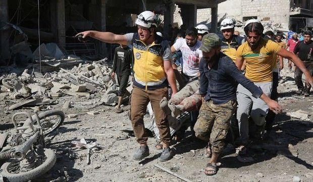 İdlib'de katliam! 50 sivil hayatını kaybetti