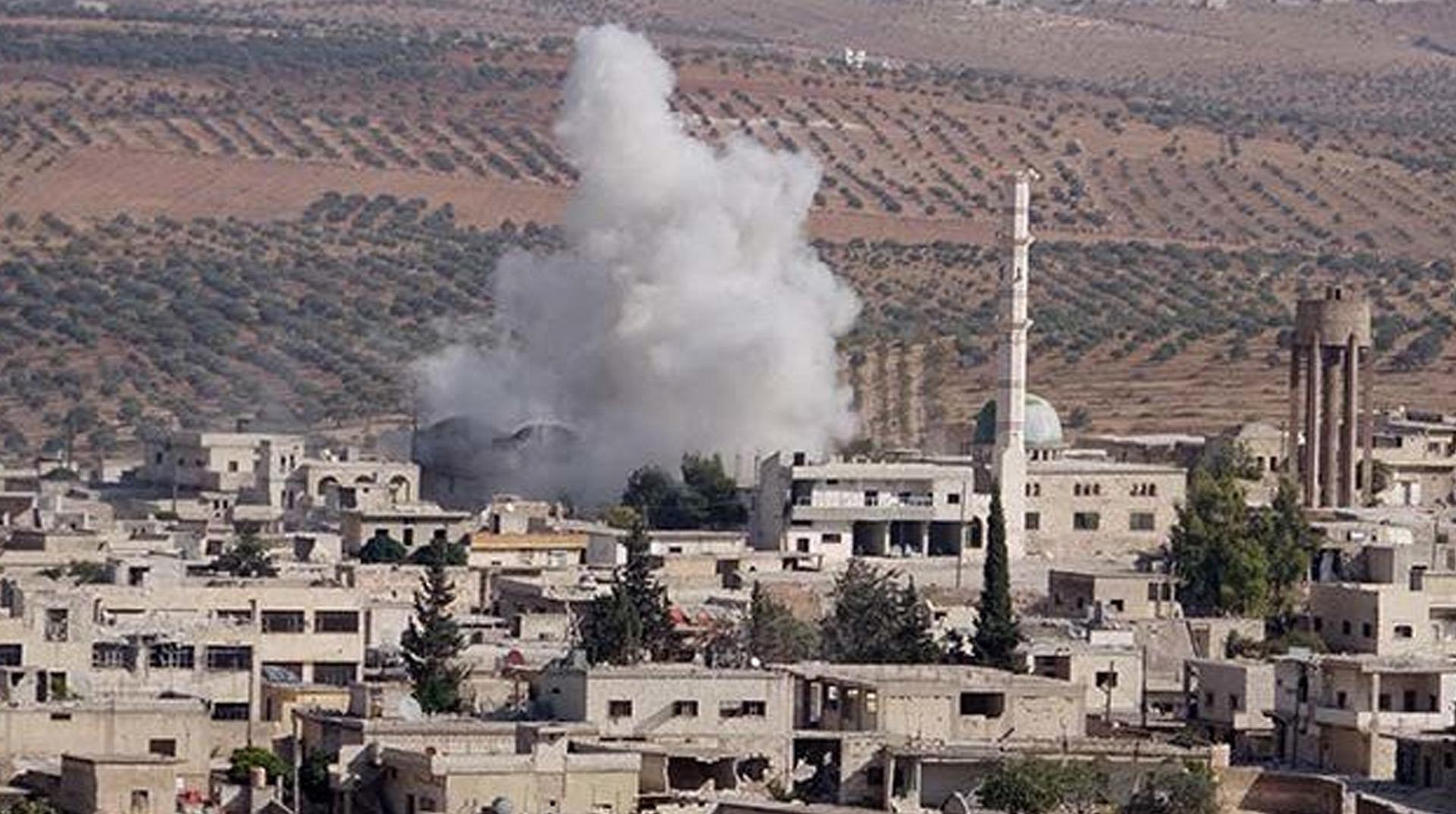 İdlib'e hava saldırıları sürüyor: 1 ölü