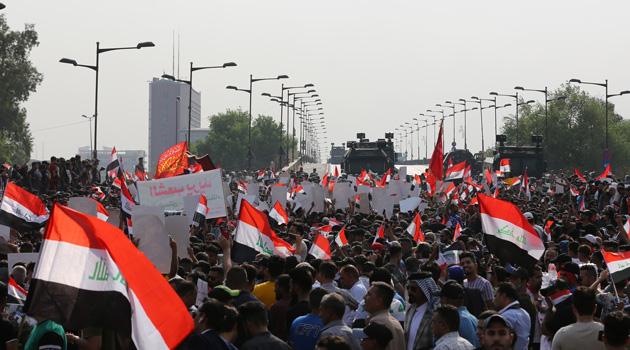 Irak'ta protestoların bilançosu: 536 ölü, 23 binden fazla yaralı