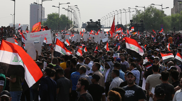 Irak'taki protestolarda ölü sayısı 10'u geçti