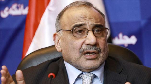 Irak'ın eski Başbakanı Abdulmehdi'den ABD'ye kınama
