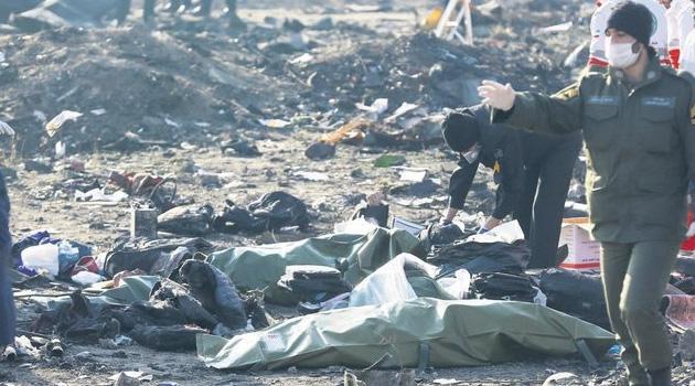 İran, düşen uçağın kayıtlarının Ukrayna'ya gönderileceğini açıkladı