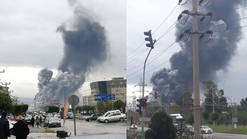 İskenderun demir çelik fabrikasında patlama