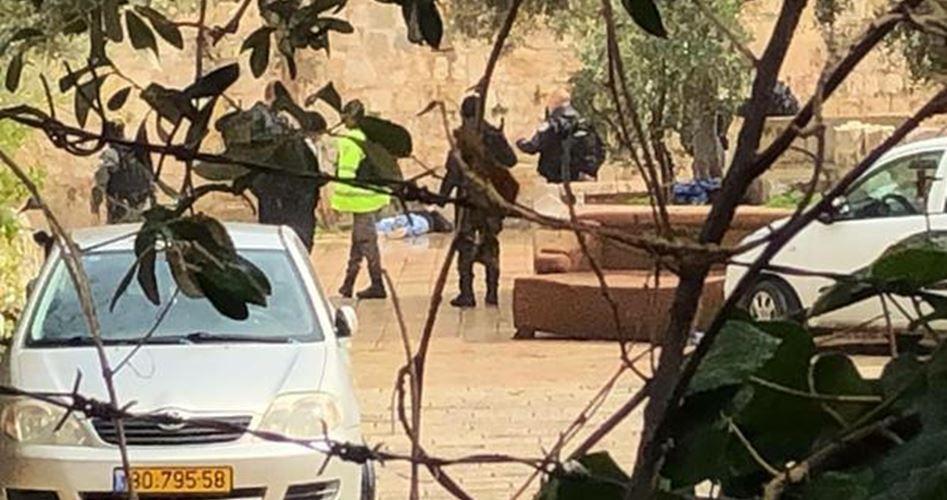 İşgal güçleri Kudüs'te Filistinli bir genci şehit etti