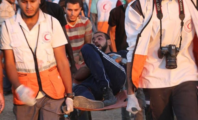 İşgal rejimi ateş açtı: 5 Filistinli yaralandı