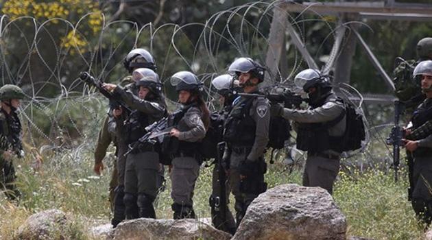 İşgalci İsrail'den Filistinlilere baskın: Onlarca kişi yaralandı