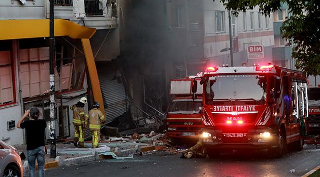 İstanbul'da tekstil atölyesinde patlama