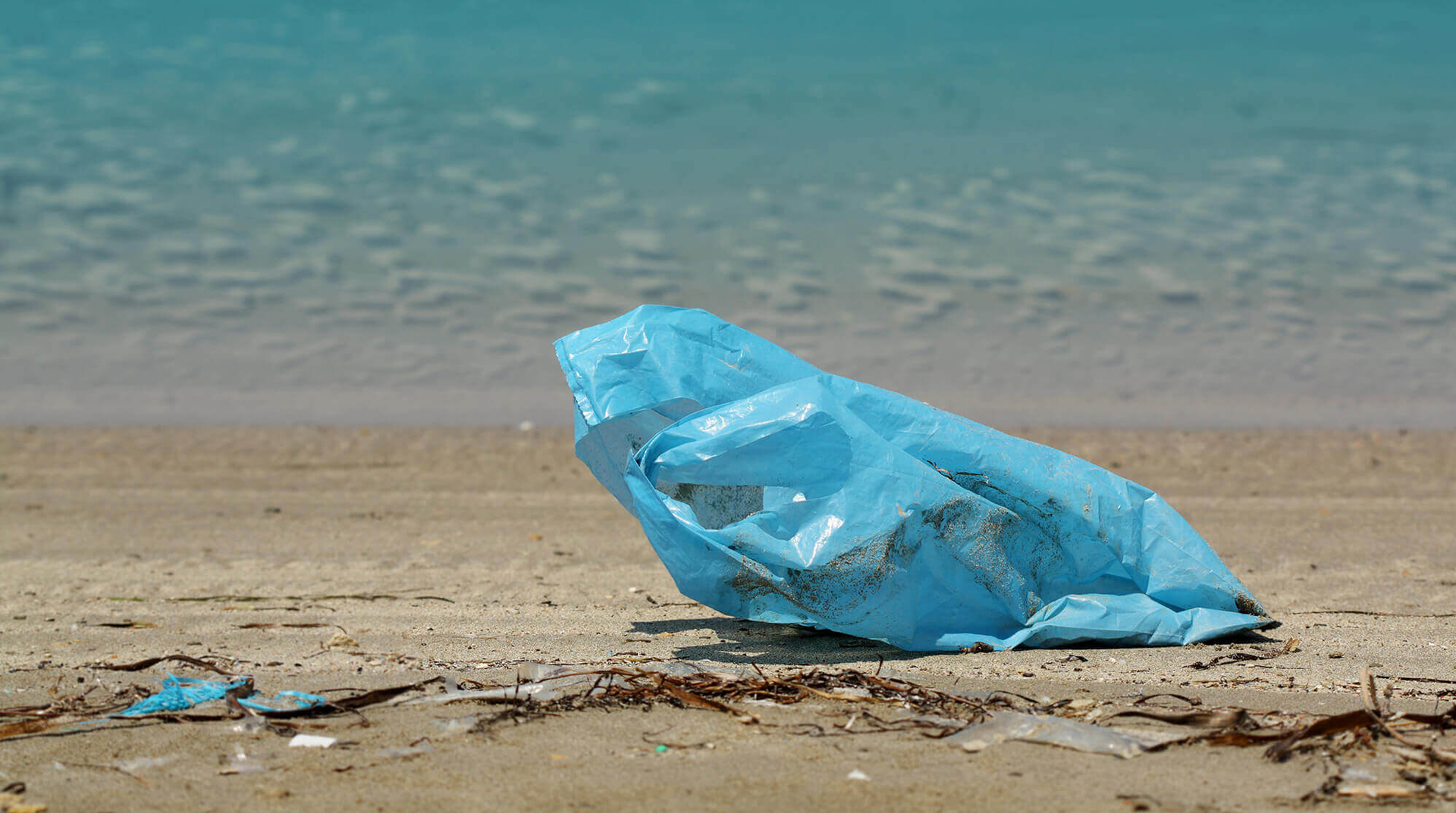 Tekirdağ'ın tatil beldesinde 4 günlük bayram tatili sonrası 500 ton çöp toplandı