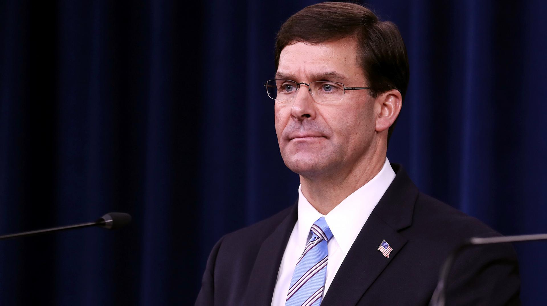 ABD Savunma Bakanı Esper: Kasım sonuna kadar Afganistan'daki asker sayımızı 5 binin altına düşüreceğiz