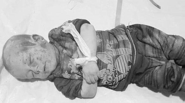 Zalimler İdlib'de Bir Anne ve Bebeğini Katletti