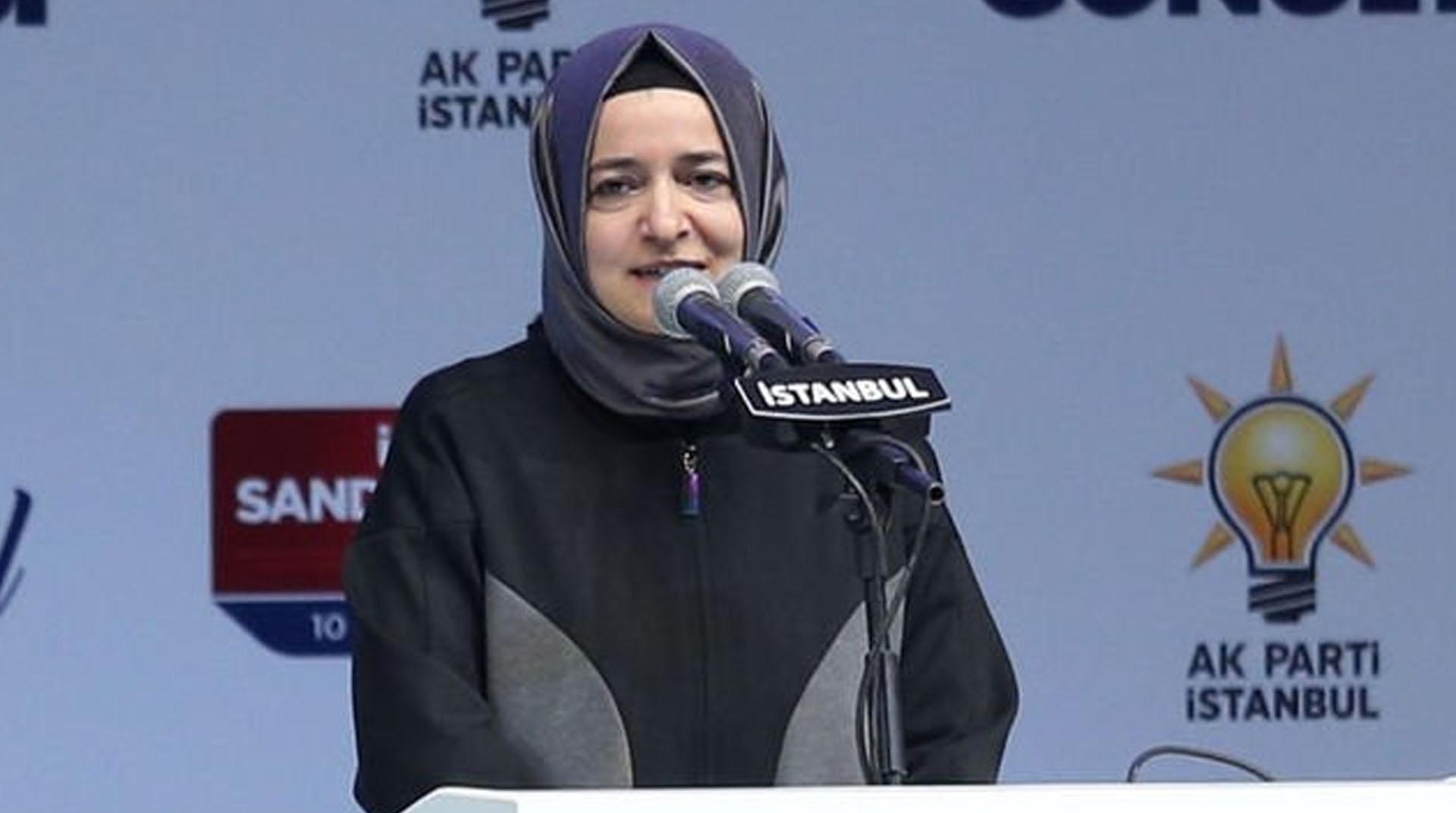 AKP Genel Başkan Yardımcısı Fatma Betül Sayan Kaya: Sadece Türkiye değil dünyadaki tüm mazlumların umuduyuz