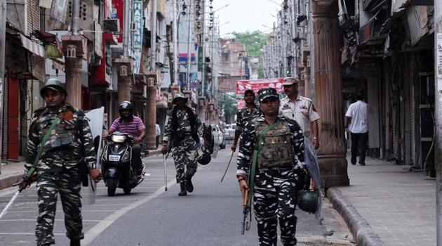 Cammu Keşmir'de ağustostan bu yana 765 kişi gözaltına alındı