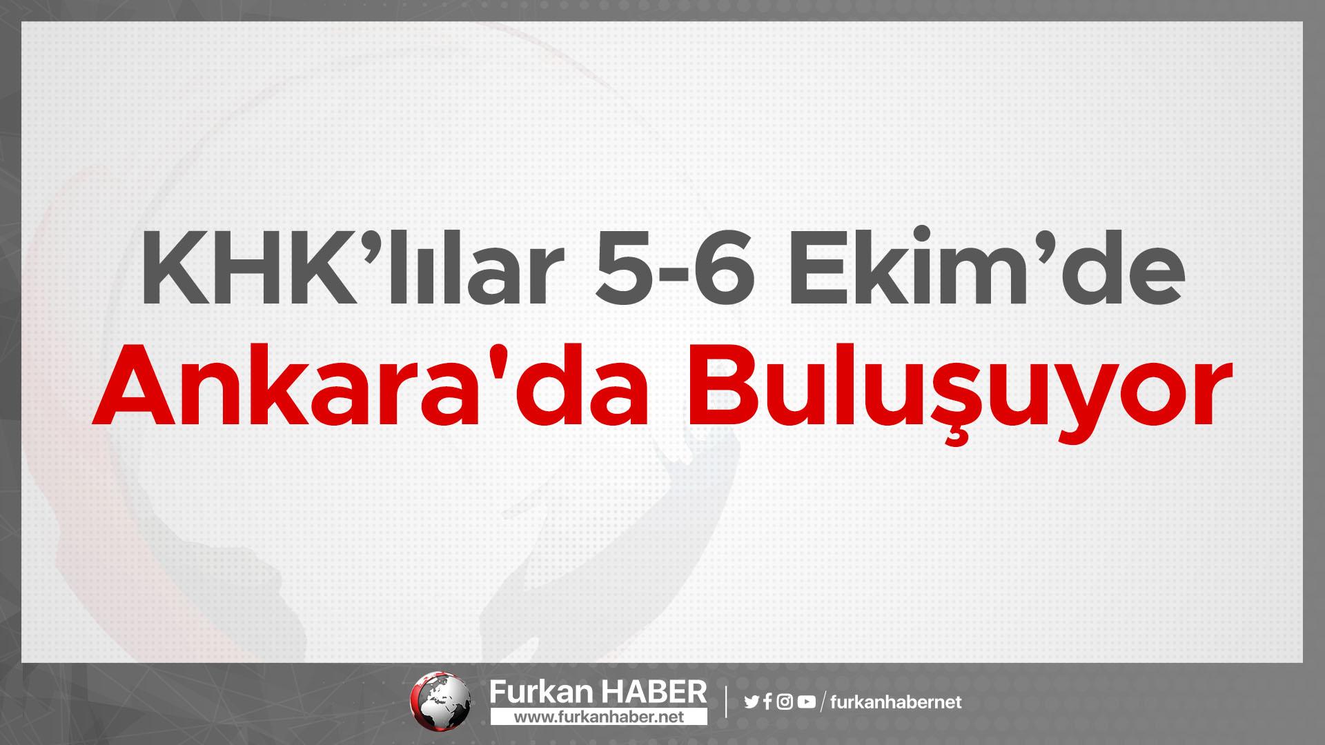 KHK'lılar Ankara'da Buluşuyor